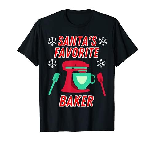 Divertido regalo de Navidad para hornear Camiseta