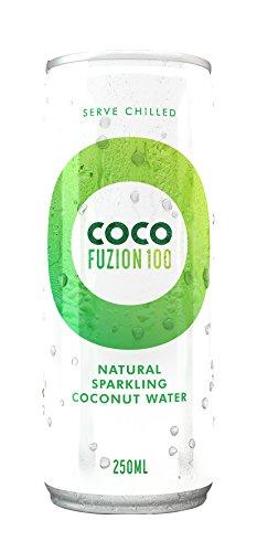 Coco Fuzion 100 Naural - Acqua di Cocco Frizzante Naturale 100 (12x 250ml)