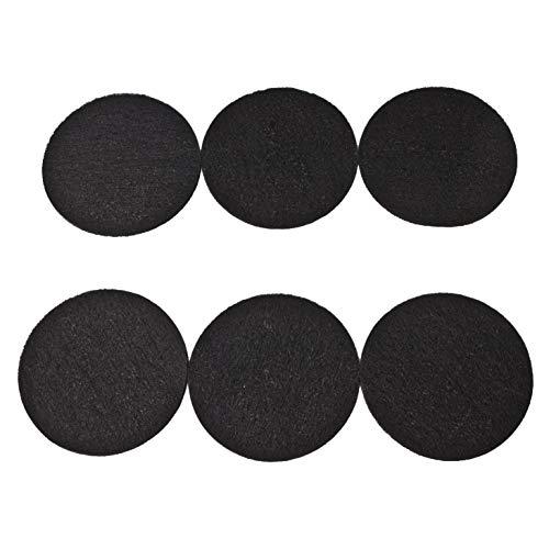 LTWHOME Aktivkohle Filterschwamm Passend für Eheim Ecco Pro 130/200/300 Ecco 2232/2234/2236(6 Stück)