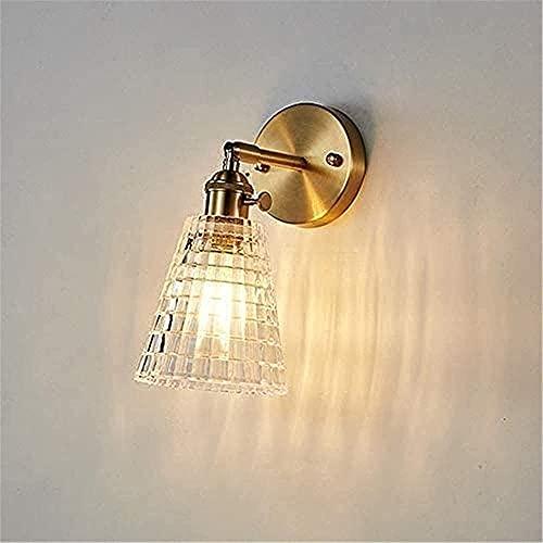 DKBE Lámpara de Pared Industrial Ajustable, Ajustable en múltiples ángulos, para decoración del hogar, cabecera, baño, Dormitorio, Granja, Porche, Garaje