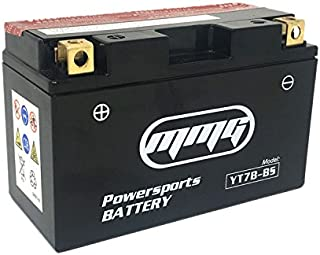 MMG YTX7B-BS, YT7B-BS 12v Motorcycle Battery, Compatible with Ducati 1199 Panigale, Kawasaki KLX400, Suzuki DR Z400, Triumph Daytona 675, Yamaha TTR250