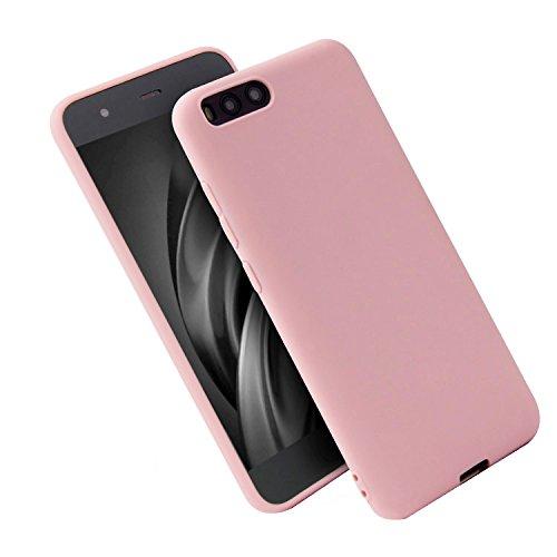 WindTeco Funda Xiaomi Mi 6, Mate Case Ultra Delgado TPU Goma Flexible Cover Protectora Carcasa de Silicona Gel Suave Bumper Case para Xiaomi Mi 6