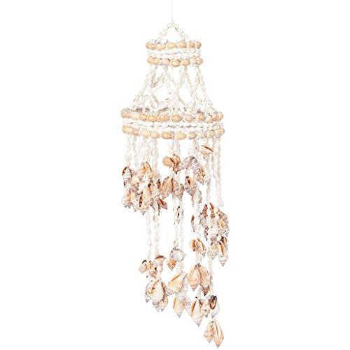 NA/ Marginf Carillon éolien en forme de conque, carillon Koshi à suspendre pour décoration murale créative