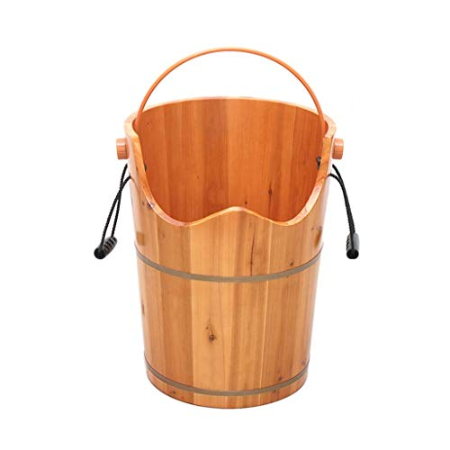 Review Of XFENG Wooden Footbath, Foot Bath and Spa Barrel Wood Household Durable Health Foot Washing...