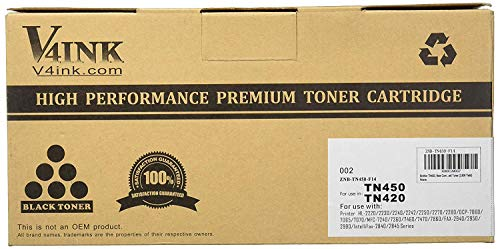 Generic 1 Pack Compatible TN450 TN 450 TN-450 TN 420 TN420 TN-420 Black Toner Cartridge For Brother HL-2280DW HL-2270DW HL-2240 MFC-7240 MFC-7860DW MFC-7460DN DCP-7065DN HL-2240D Printer