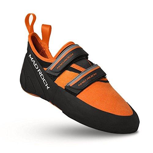 Mad Rock Men's Flash 2.0 Climbing Shoe,Orange/Black,8.5 D US