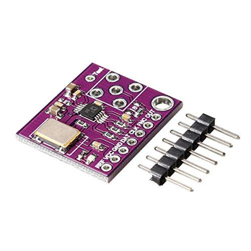 sunnyflowf CJMCU-9833 AD9833 Módulo Generador de señal Módulo Sine Square Wave DDS Monitor HM - Púrpura