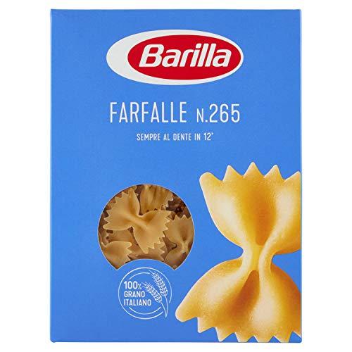 Barilla - Farfalle, Pasta di Semola di Grano Duro - 6 pezzi da 500 g [3 kg]