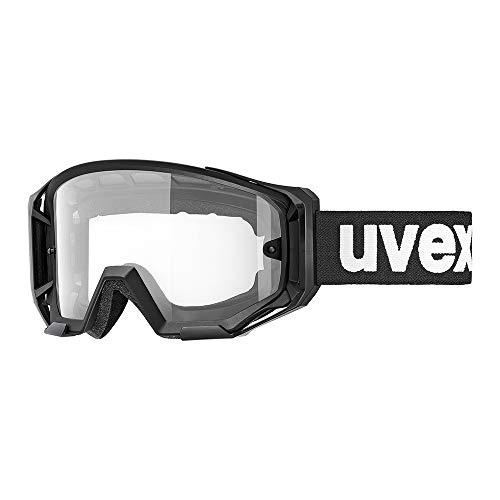 uvex Unisex– Erwachsene, downhill 2000 bike Bike Goggle, black shiny, one size
