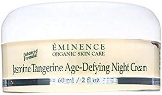 Eminence Organic Skincare Tangerine Age-Defying Night Cream, Jasmine, 2 Ounce