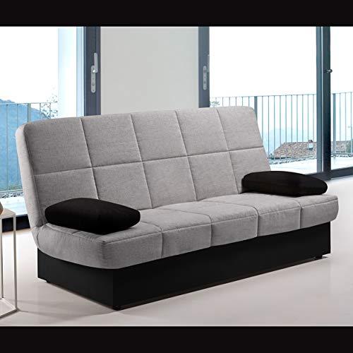 Komfortland Sofa Cama Black Night-Star (Gris)