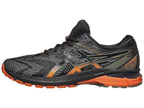 ASICS Men's GT-2000 8 Trail Shoes, 11M, Black/Lichen Green
