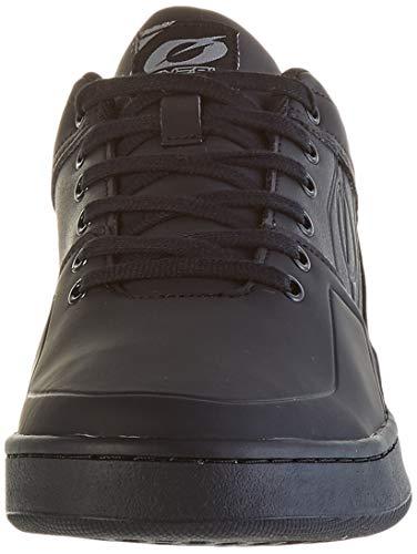 O'NEAL | Zapatos de Bicicleta | MTB Downhill Freeride | Equilibrio Entre el Agarre y el reposicionamiento del pie | Zapatos de Pedal Plano con Clavos | Adultos | Negro | Talla 43