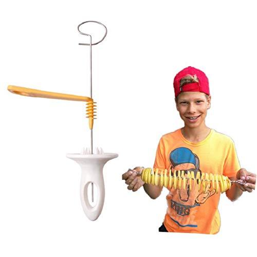 SISHUINIANHUA Gemüse, Obst, Spiral Slicer Modelle Cutter Shredder Für Kochen Chips Edelstahl Küchenwerkzeug-Zubehör Gadgets