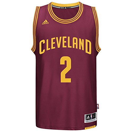 adidas Kyrie Irving Men's Maroon Cleveland Cavaliers Swingman Jersey XX-Large