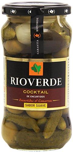Rioverde - Cocktail de encurtidos - Sabor suave - 345 g