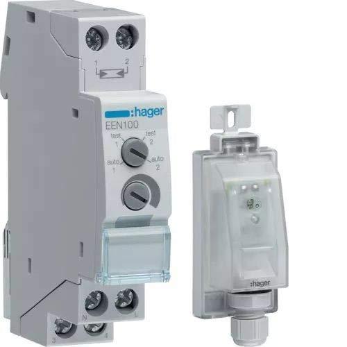 Hager EEN100 Dämmerungsschalter mit Aufbaufühler EEN003 3250617579308