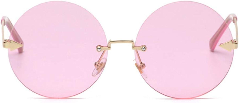 Fuqiuwei Sonnenbrillen Simple And Versatile Retro Personality Retro Round Frame Sunglasses Personality Big Box Sunglasses