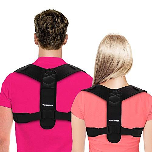 Haltungskorrektur, Geradehalter,Rückenstütze Schultergurt Haltungstrainer Posture Corrector,für Nacken Rücken Schulterschmerzen,Körperhaltung-Korrektor für Damen und Herren