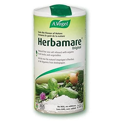 Herbamare® | Sal marina no refinada con plantas aromáticas y hortalizas frescas BIO para una vida sana y sabrosa | 250 gr | A.Vogel