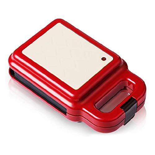 CHENMAO Máquina de gofres pequeños, máquina de sándwich Inteligente Doble Cara Temperatura Constante automática, fácil de Usar Mango Anti-escaldado Adecuado
