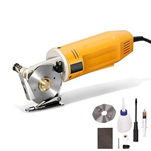 cortadora de tela 70 mm Tijeras eléctricas portátiles Mini cortador cuchilla redonda...
