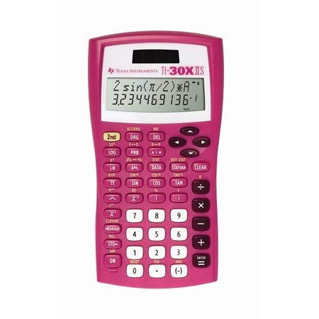 Texas Instruments TI-30X IIS Scientific Calculator, Pink