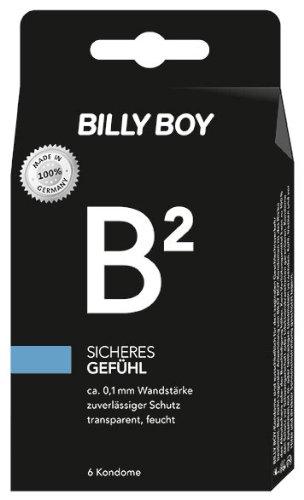 Billy Boy B² Sicheres Gefühl Kondome, 2er Pack (2 x 6 Stück)