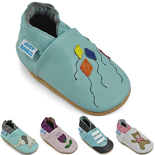 Soft Leather Baby Shoes - Toddler Shoes with Suede Soles
