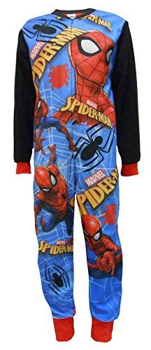 Spiderman Spider-Man Niños Fleece One Piece Sleepsuit