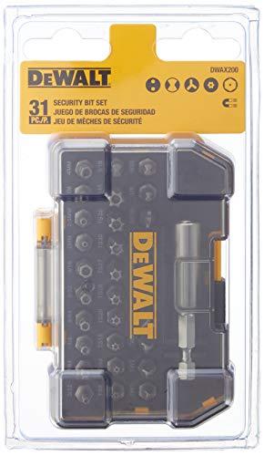 DEWALT Screwdriver Set, Security, 31-Piece (DWAX200)