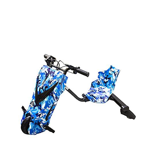 GRAN SCOOTER ELECTRIC VEHICLES Patinete con Silla Boogie Drift 36D (250W, Batería Litio, 3 Velocidades, Vel. Máx 15km, Luz Delantera, Pantalla LCD) – Azul