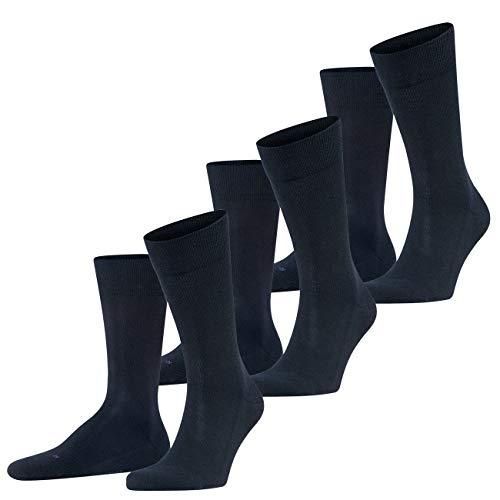 FALKE Herren Functional Socken London 3er Pack, Größe:43-46;Farbe:Dark Navy (6370)