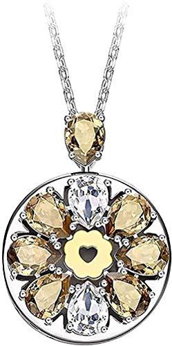Collar Joyas inteligentes Collar Pulsera Serie chapada en oro de 18 k con mujeres amorosas beige beige