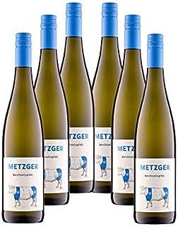 Weingut Metzger - Wechselspiel Sparpaket | Cuvée Weißwein trocken | Kombination aus Riesling und Scheurebe | Jahrgang 2018 6x0,75 l