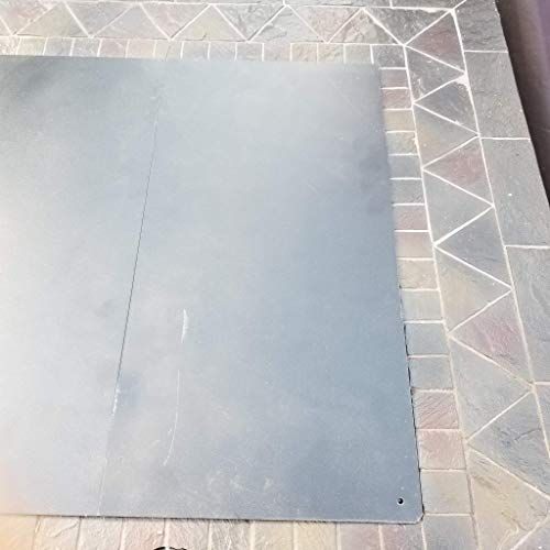 Outdoor Bazaar 18 Inch Square Metal Lid/Cover for firepit and firetable Bowls