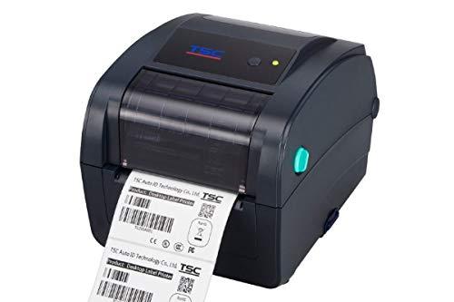 TSC TC300 - Etikettendrucker (Wärmeübertragung, 300 x 300 DPI, 102 mm/sek, 11,2 cm, 101,6 cm, Schwarz)