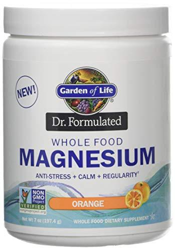 Dr. Formulated Whole Food Magnesium Powder, Orange