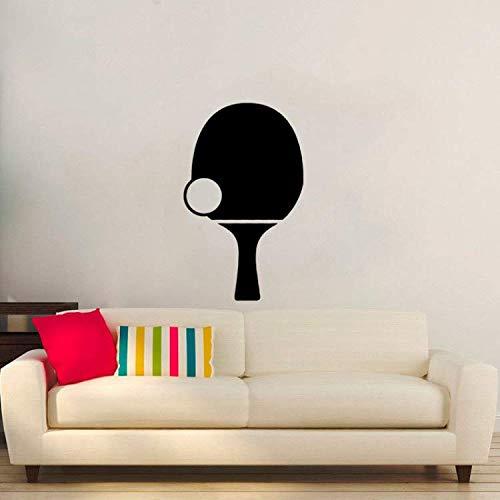 33 * 60 CM Tischtennis Grafik Wohnzimmer Das Schlafzimmer Dekor Wandaufkleber PVC