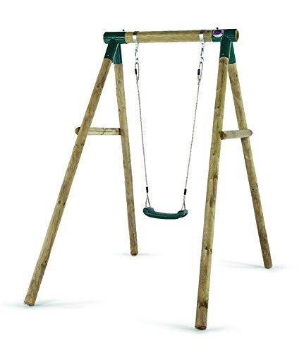Plum Bush Baby Wooden Garden Single Swing Set