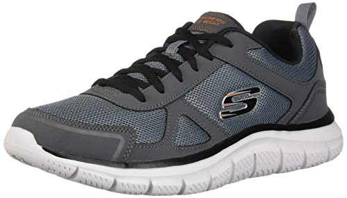 Skechers Mannen Track-scloric 52631-bkrd Low-Top Sneakers