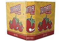 バインダー 2 Ring Binder Lever Arch Folder A4 printed Organic tomato