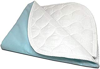 """RMS Ultra Soft 4-Layer Washable and Reusable Incontinence Bed Underpad, 34""""X54"""""""