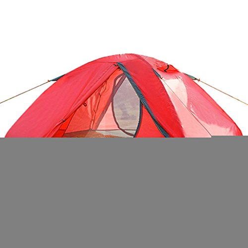 Lewie-Zelte Camping Zelt im Freien Doppelstock Wind gegen Sturmzelt Zelt Aluminiumpfosten Mongolei Camping