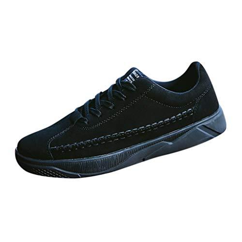 ODRD Clearance Sale [EU36-EU49] Schuhe Herren Männer Herrenmode Lässige Feste Lace-Up Sport Laufschuhe Turnschuhe Bordschuhe Combat Hallenschuhe Worker Boots Laufschuhe Wanderschuhe Sneakers Sport