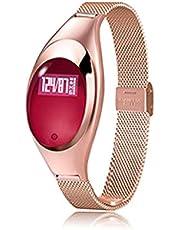 Slimme armband Band Bloedzuurstof Hartslag Oproepherinnering Luxe mode Smartband Polsband Polshorloge voor vrouwen cadeau