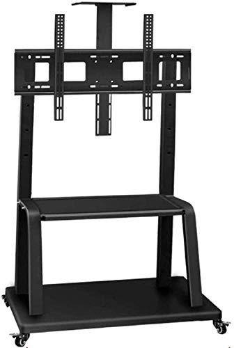 MU Mesa Giratoria Tv Stock Tv Stock Steel de Acero Inoxidable Soporte de Pie Alto para 12 27 Pulgadas Televisores Negro Pequeño Piso Tv Soporte S Hobre 20Kg,Estilo # 3