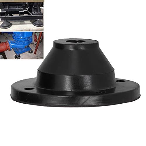 Amortiguador antivibraciones del Motor, Proporciona un Amortiguador antivibraciones de sujeción Adicional Amplios usos con una lámina de Hierro Redonda en el Interior de la Base para
