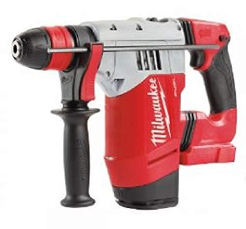 Milwaukee Bohrhammer SDS-Plus Fuel M18 chpx-0 x – ohne Akku und Ladegerät 4933451431, 18 V, red
