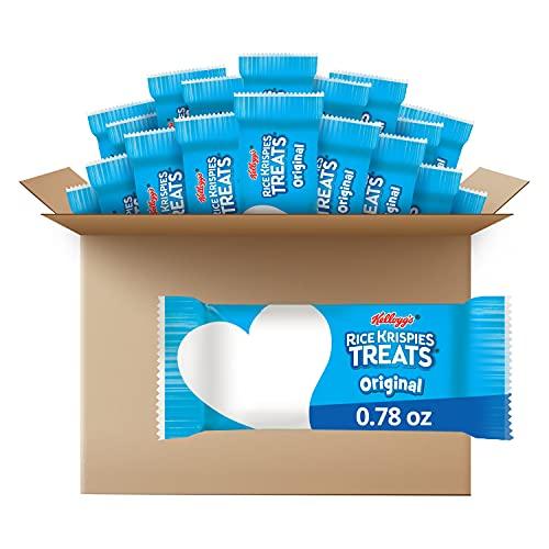 Rice Krispies Treats Marshmallow Snack Bars, Original, Kids Snacks, School Lunch, 0.78 oz Bars (54...